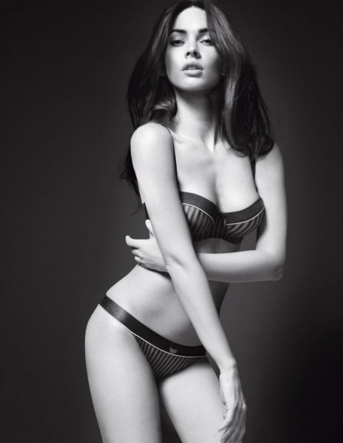 commercial, Emporio Armani has unveiled the latest film of Megan Fox in