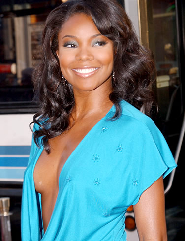 ... cheeks (similar to the look Gabrielle Union is sporting below).