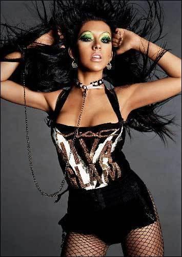 christina aguilera makeup. Christina Aguilera,